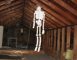 Attic skeleton